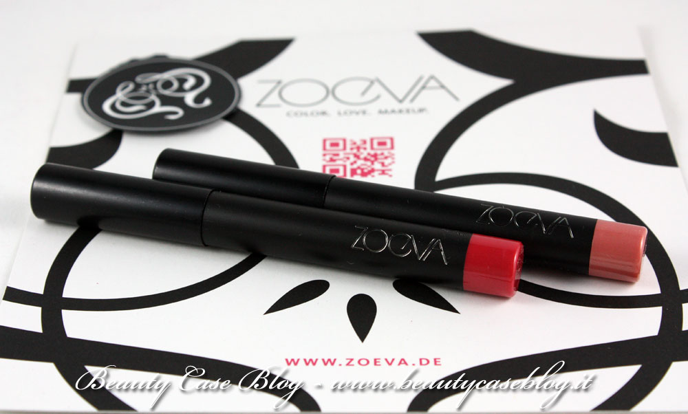 Zoeva - Lip Crayon e Luxe Color Blush