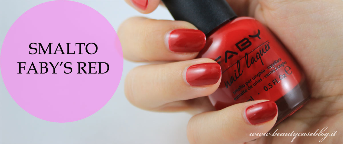 Faby - Smalto Faby's red n°303