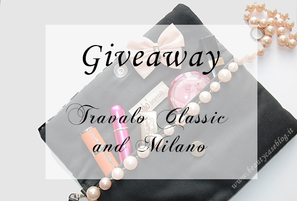 Giveaway Travalo Classic and Travalo Milano
