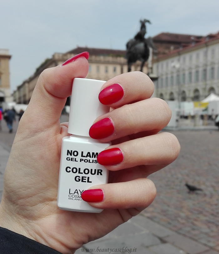 Layla No Lamp Gel Polish 08 Red Vegas