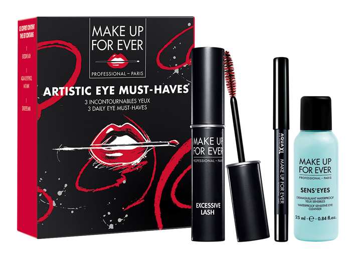 Make Up For Ever Natale 2016 Kit Artistic Eye Must-Haves