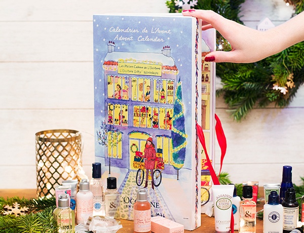 L'Occitane Calendario dell'Avvento Natale 2016