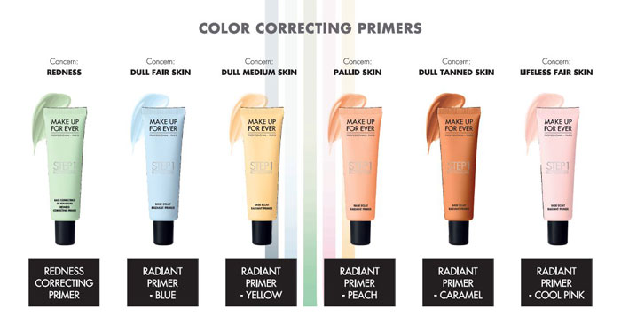 Make Up For Ever Primer color correcting primer
