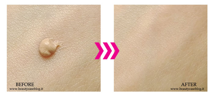 Make Up For Ever Primer Step 1 Skin Equalizer Smoothing Primer Before and After