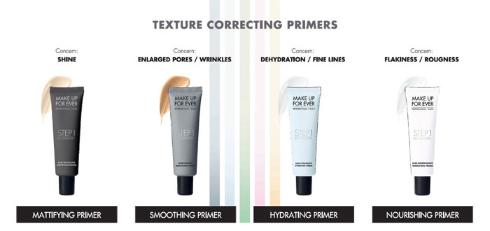 Make Up For Ever Primer texture correcting primer