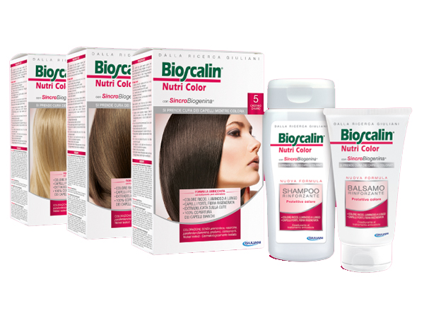 Bioscalin Nutri Color linea per capelli colorati