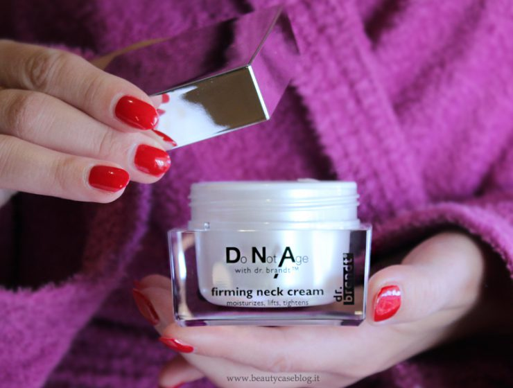 Dr. Brandt crema per il collo Do Not Age Firming Neck Cream